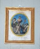 Agricola L.-Lomastro E. T. sec. XIX, Via Crucis con Gesù aiutato dal cireneo