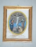 Agricola L.-Lomastro E. T. sec. XIX, Via Crucis con Gesù morto in croce