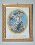 Artigianato campano sec. XIX, Cornice dorata 1/13
