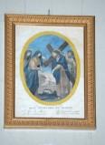 Artigianato campano sec. XIX, Cornice dorata 10/13