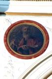 Ambito dell'Italia meridionale sec. XIX, San Marco Evangelista in olio su tela