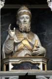 Diego da Careri secondo quarto sec. XVII, San Sisto II papa in legno scolpito