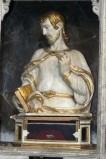 Diego da Careri secondo quarto sec. XVII, Reliquiario a busto in legno scolpito