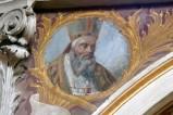 Girosi G. secondo quarto sec. XX, Sant'Agostino in olio su tela
