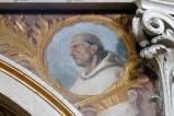 Girosi G. secondo quarto sec. XX, San Bernardo di Chiaravalle in olio su tela