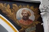 Girosi G. secondo quarto sec. XX, San Cirillo di Gerusalemme in olio su tela