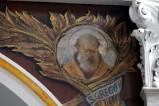 Girosi G. secondo quarto sec. XX, San Gregorio Nazianzeno in olio su tela