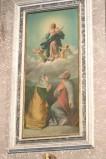 Ambito napoletano sec. XIX, Assunzione della Madonna in olio su tela