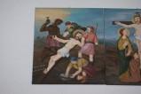 Adamo C. (1992), Gesù Cristo inchiodato alla croce in olio su tavola