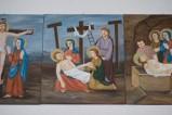 Adamo C. (1992), Gesù Cristo deposto dalla croce in olio su tavola