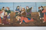 Adamo C. (1992), Gesù Cristo cade la seconda volta in olio su tavola