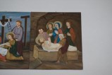 Adamo C. (1992), Gesù Cristo deposto nel sepolcro in olio su tavola