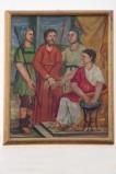 Adamo C. (1964), Gesù Cristo condannato a morte in olio su tavola