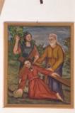 Adamo C. (1964), Gesù Cristo cade la prima volta in olio su tavola