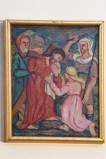 Adamo C. (1964), Gesù Cristo asciugato dalla Veronica in olio su tavola