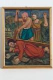 Adamo C. (1964), Gesù Cristo cade la seconda volta in olio su tavola