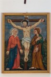 Adamo C. (1964), Gesù Cristo morto in croce in olio su tavola