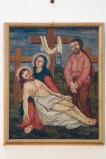 Adamo C. (1964), Gesù Cristo deposto dalla croce in olio su tavola
