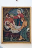 Adamo C. (1964), Gesù Cristo deposto nel sepolcro in olio su tavola