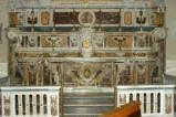 Marmoraro campano sec. XVIII, Altare di San Marcellino