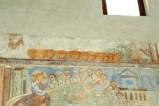 Scuola campana-cassinese sec. XI, Affresco con miracolo dei pani e dei pesci