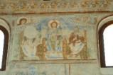 Scuola campana-cassinese sec. XI, Affresco con Gesù Cristo al tempio