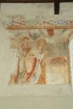 Scuola campana-cassinese sec. XI, Affresco con il sacrificio di Noè
