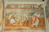 Scuola campana-cassinese sec. XI, Affresco con Caino che uccide Abele