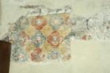 Scuola campano-cassinese sec. XI, Affresco con decorazione floreale