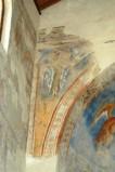 Scuola campano-cassinese sec. XI, Affresco con Cherubino