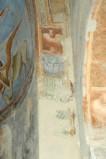 Scuola campano-cassinese sec. XI, Affresco con motivo decorativo a lesena