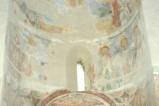 Scuola campano-cassinese sec. XI, Affresco