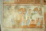 Scuola campana-cassinese sec. XI, Affresco con l'offerta e sacrificio di Gedeone
