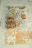 Scuola campano-cassinese sec. XI, Affresco con abate Desiderio