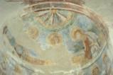 Scuola campano-cassinese sec. XI, Affresco con teoria di santi