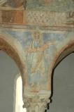 Scuola campana-cassinese sec. XI, Affresco con il profeta Ezechiele