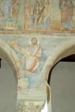 Scuola campana-cassinese sec. XI, Affresco con il profeta Baleam