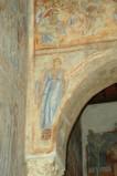 Scuola campana-cassinese sec. XI, Affresco con Sibilla