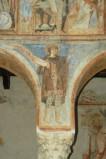 Scuola campana-cassinese sec. XI, Affresco con re Salomone
