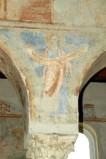 Scuola campana-cassinese sec. XI, Affresco con il profeta Amos