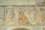 Scuola campana-cassinese sec. XI, Affresco con la resurrezione di Lazzaro