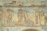 Scuola campana-cassinese sec. XI, Affresco con Cristo e la moglie di Zebedeo