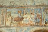 Scuola campana-cassinese sec. XI, Affresco con cena di Betania