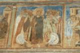 Scuola campana-cassinese sec. XI, Affresco con Gesù Cristo deriso