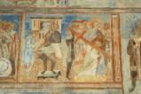 Scuola campana-cassinese sec. XI, Affresco con Pilato che si lava le mani