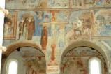 Scuola campana-cassinese sec. XI, Affresco con la crocifissione