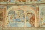 Scuola campana-cassinese sec. XI, Affresco con deposizione nel sepolcro