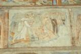 Scuola campana-cassinese sec. XI, Affresco con Cristo che discende al limbo