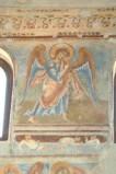 Scuola campana-cassinese sec. XI, Affresco con Angelo musicante 2/4