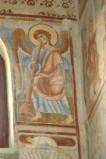 Scuola campana-cassinese sec. XI, Affresco con Angelo musicante 4/4
